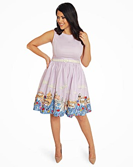Lindy Bop Audrey Florence Swing Dress
