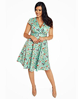Lindy Bop Dawn Blossom Swing Dress