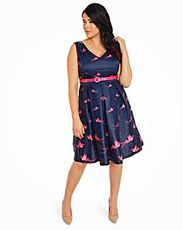 Lindy Bop Valerie Birds Swing Dress