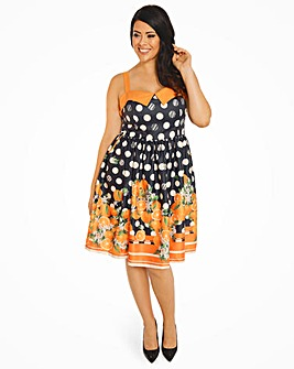 Lindy Bop Saskia Polka Swing Dress