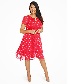 Lindy Bop Bretta Polka Tea Dress