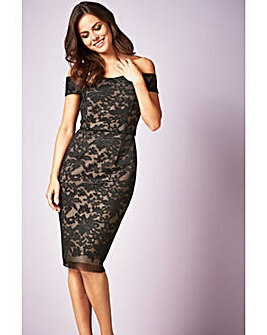 Gina Bacconi Felicity Embroidered Dress