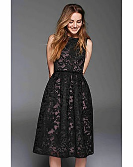 Gina Bacconi Emily Embroidered Dress