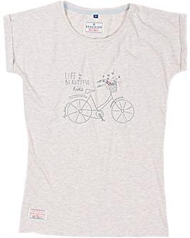 Brakeburn Bikes Embroidery Tee
