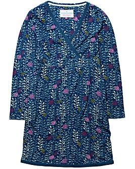 Brakeburn Trailing Leaf Wrap Dress