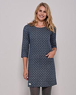 Brakeburn Leaf Cotton Dress