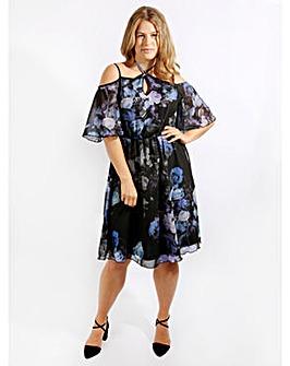 Lovedrobe GB Halterneck Gypsy Dress