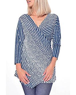 Grace Made in Britain stripe tunic