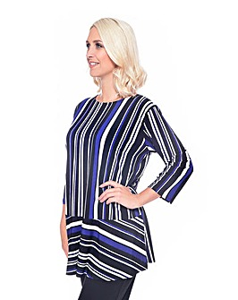 Grace Made in Britain striped tunic