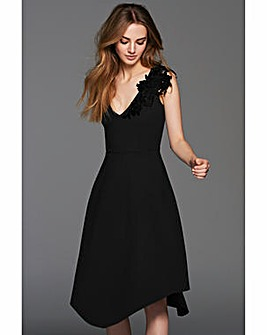 Gina Bacconi Evelina Lace Trim Dress