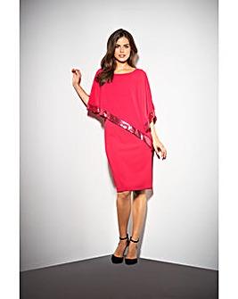 Gina Bacconi Victoria Cape Dress