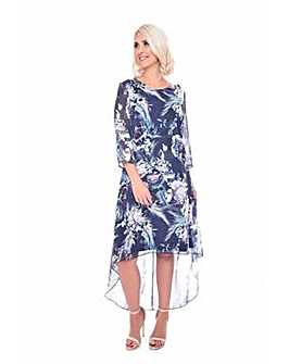 Grace floral print tunic dress