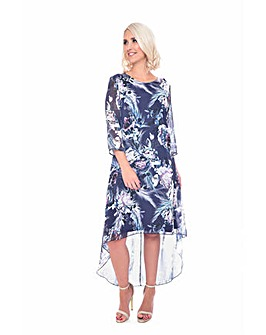 Grace floral print tunic dress