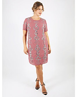 Lovedrobe Luxe Rose Shift Dress