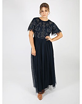 Lovedrobe Luxe Embellished Maxi Dress