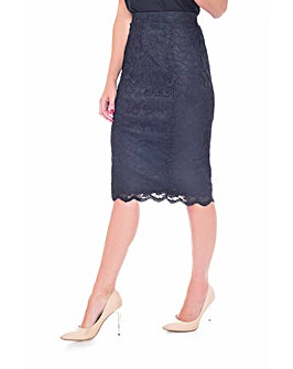 Grace Made in Britain lace skirt