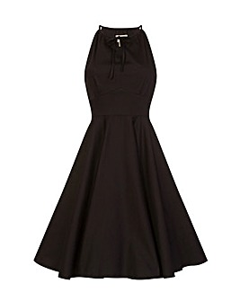 Lindy Bop Julianna Black Swing Dress