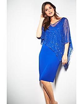 Gina Bacconi Joanna Cape Dress