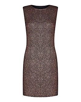 Mela London Curve Glitter Embellished Bo