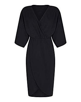 Mela London Curve Wrap Effect Kimono Sle