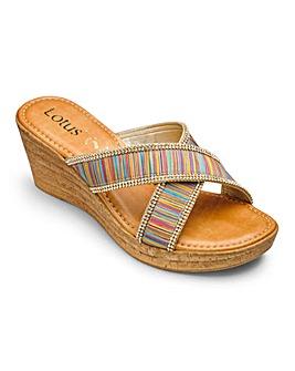 Lotus Mule Sandals D Fit