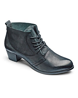 Heavenly Soles Ankle Boots EEE Fit
