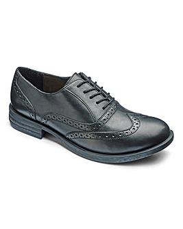 Heavenly Soles Lace Up Shoes E Fit