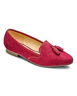 Heavenly Soles Tassel Shoes EEE Fit