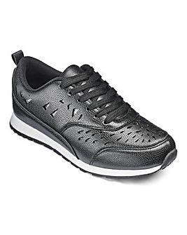Heavenly Soles Leisure Shoes EEE Fit