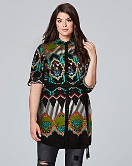 AX Paris Multi Print Shirt Dress