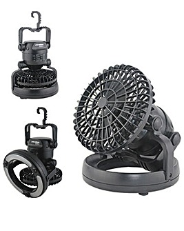 Yellowstone LED Tent Light And Fan