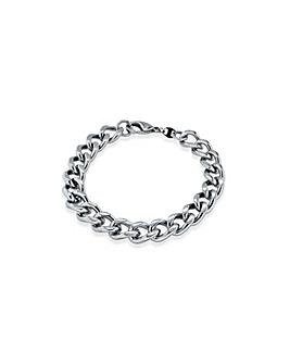 Large Flat Curb Bracelet