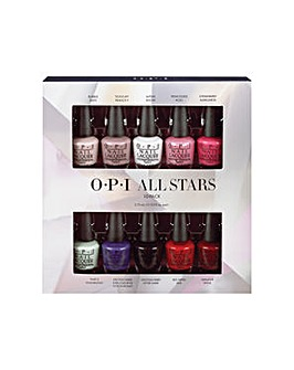 OPI Starlight All Stars 10pc Minipack
