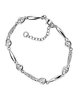 Teardrop Cubic Zirconia Bracelet