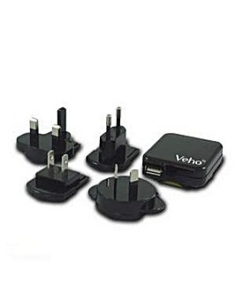 Veho Multi Regional Mains USB Charger