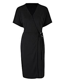Kimono D Ring Wrap Dress