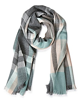 Oasis Annabelle Checked Scarf