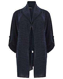 Feverfish Knitted Asymmetric Jacket