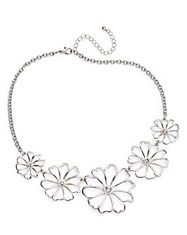 Cut Out Flower Collar