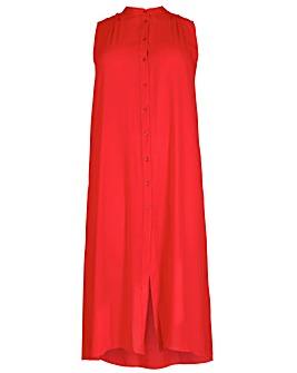 emily Maxi Length Shirt Dress