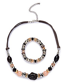 Mixed Bead Necklace/Bracelet