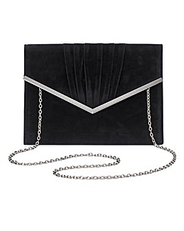 Sophie Black Clutch Bag