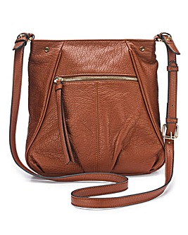 Tan Messenger Bag