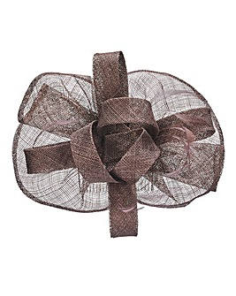 Joanna Hope Mocha Comb Fascinator
