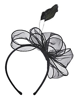 Black Headband Fascinator