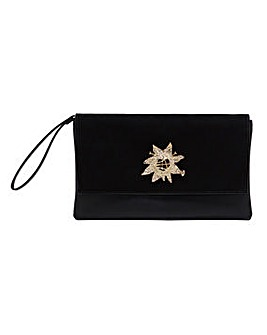 Violeta By Mango Clutch Bag