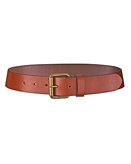Tan Leather Jeans Belt