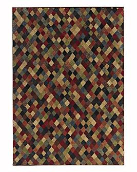 Multicolour Squares Rug
