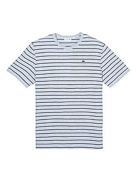 Lacoste Mighty Block Stripe T Shirt