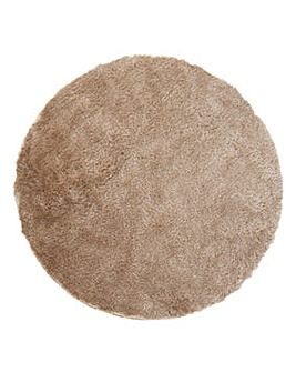 Shimmer Boutique Shaggy Circle Rug